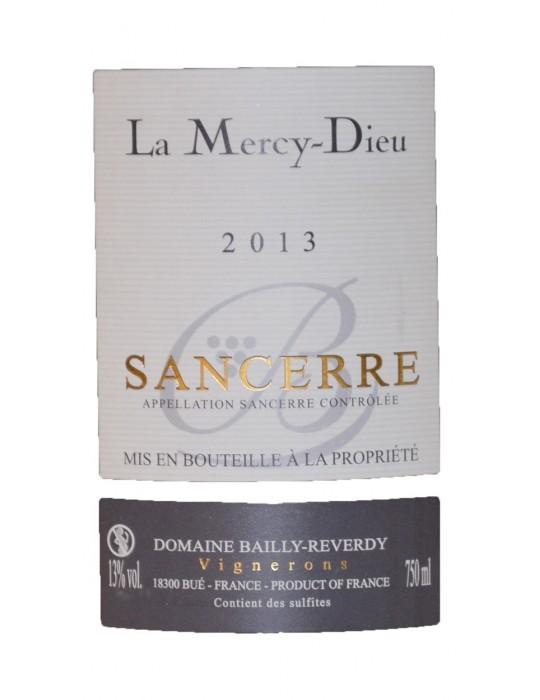 Domaine Bailly Reverdy | Cuvée La Mercy Dieu - Sancerre AOC - Rouge - 750ml
