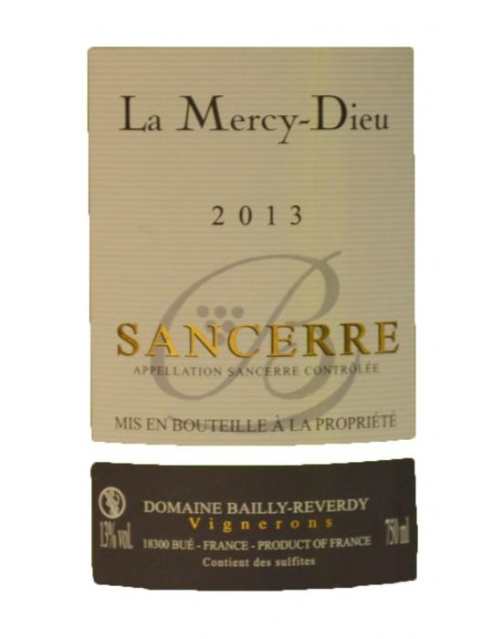 Domaine Bailly Reverdy   Cuvée La Mercy Dieu - Sancerre AOC - Blanc - 750ml