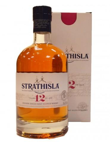 STRATHISLA - 12 Years Old - Speyside Single Malt Scotch Whisky