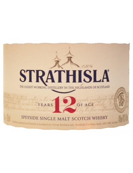 STRATHISLA | 12 Years Old - Speyside Single Malt Scotch Whisky