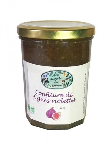 Confiture de Figues Violettes Bio - Les Secrets des Cévennes - 400 g