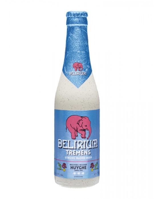 Bière belge blonde - Delirium Tremens - Brasserie Huyghe - 8,5°