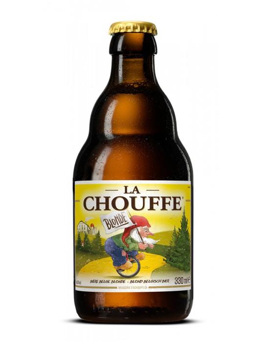 BIERES-BLONDE-BRASSERIE D'ACHOUFFE-LA CHOUFFE