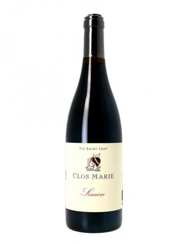 Clos Marie - Cuvée Simon - AOP Coteaux du Languedoc - Vin Rouge - 75 cl