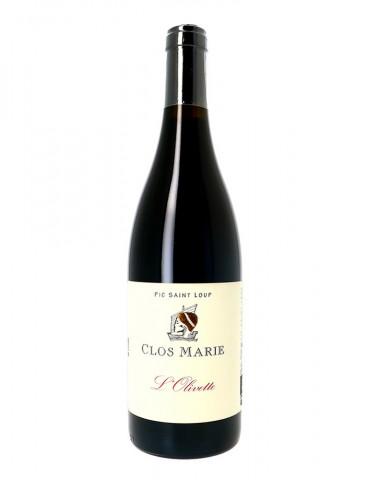Clos Marie - Cuvée Olivette - AOP Pic Saint Loup - Vin Rouge bio- 75 cl