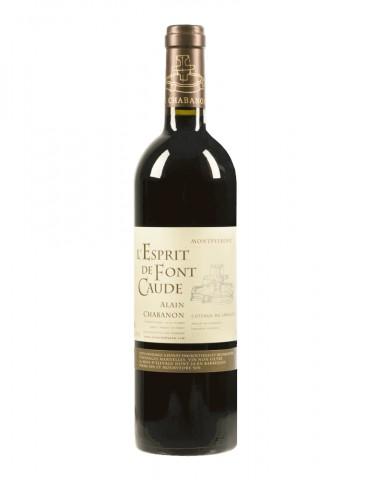 Domaine Alain Chabanon - Cuvée L'Esprit de Font Caude - AOP Coteaux du Languedoc - Vin Rouge bio - 75 cl