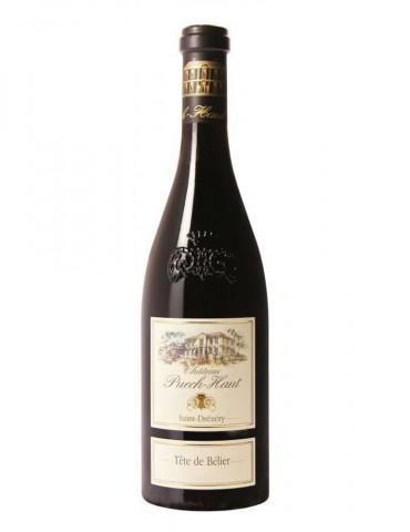 Château Puech Haut - Tête de Bélier - AOP Languedoc - Vin Rouge - 75 cl