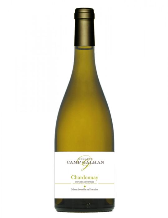 Vin blanc sec Chardonnay - IGP Cévennes - Domaine Camp Galhan - 75 cl
