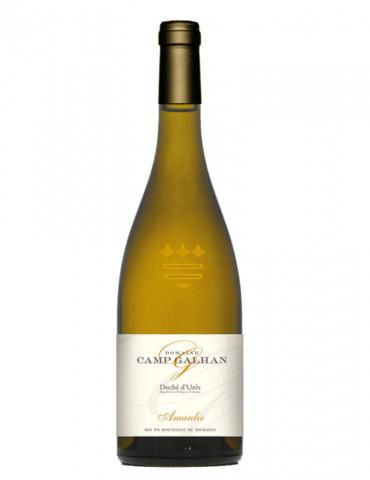 Domaine Camp Galhan - Amanlie - AOP Duché d'Uzès - vin blanc - 75 cl