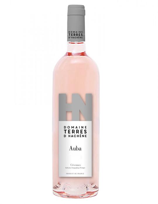 Domaine Terres d'Hachène - Auba - IGP Cévennes - vin rosé - 75 cl