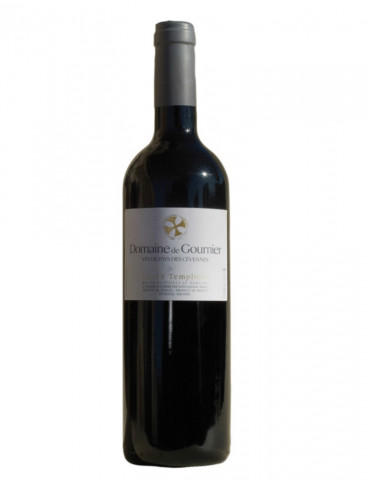 Domaine de Gournier - Cuvée Templière - IGP Cévennes - vin rouge - 75 cl