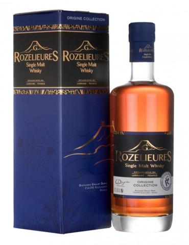 G.Rozelieures - Whisky de Lorraine 40° - Single Malt Whisky Origine - 70 cl