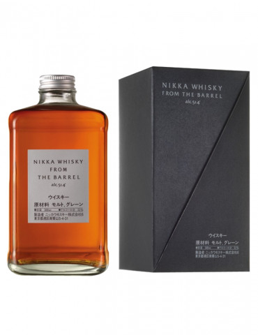 Nikka Whisky - From the Barrel 51,4° - Double Matured Blended Whisky - 50 cl