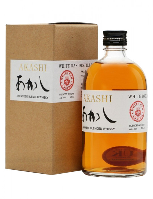 SPIRITIEUX-WHISKY-AKASHI BLENDED