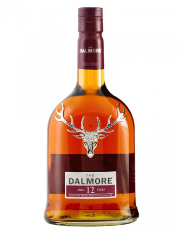 The Dalmore - 12 ans d'âge  40 ° - Highland Single Malt Scotch Whisky - 70 cl