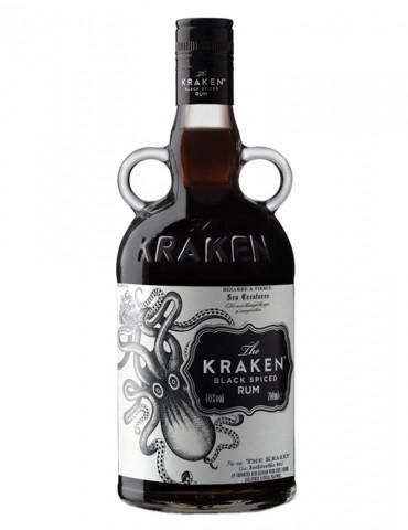 The Kraken - Black Spiced Rum 40° - Rhum - 70 cl