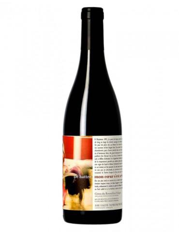 Domaine du Clos des Fées - De battre mon coeur s'est arrêté - AOP Côtes du Roussillon - vin rouge - 75 cl