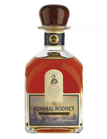 Admiral Rodney - Extra old St Lucia Rum 40° - 1782 - Rhum - 70 cl