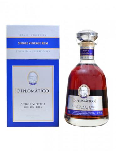 Diplomatico - Single Vintage 2005 43° - Rhum - 70 cl