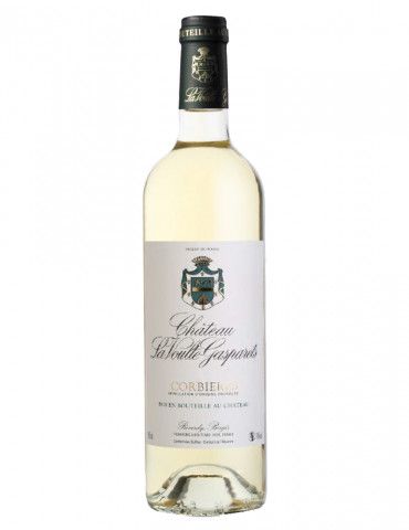 Château la Voulte Gasparets - AOP Corbières - vin blanc - 75 cl