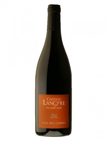 Château de Lancyre - Cuvée clos des combes - Pic Saint Loup - vin rouge -75 cl
