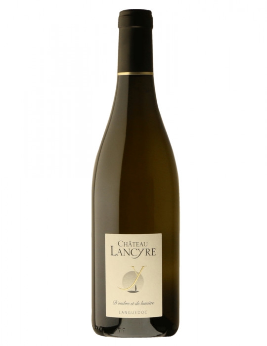 Vin blanc - Cuvée D'ombre et de lumière - AOP Languedoc - Château de Lancyre
