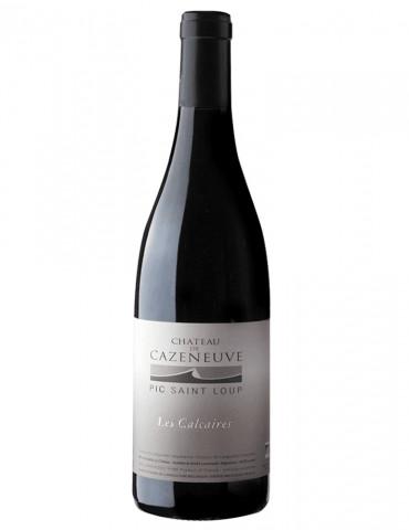 Château Cazeneuve - Cuvée Les Calcaires - Pic Saint Loup - vin rouge BIO AB - 75 cl