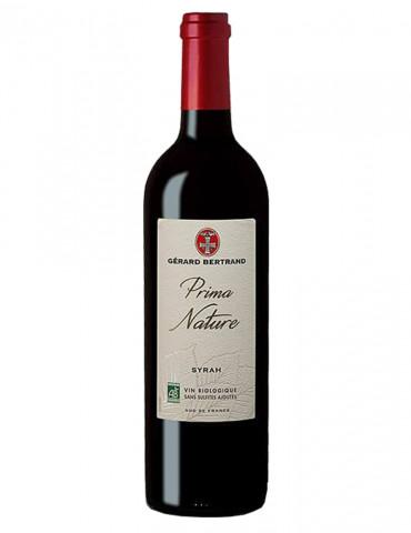 Vignobles Gérard Bertrand - Prima Nature Syrah - IGP Pays d'Oc - Vin rouge - 75 cl