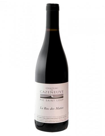 Château Cazeneuve - Cuvée Le Roc des Mates - Pic Saint Loup - vin rouge BIO AB - 75 cl