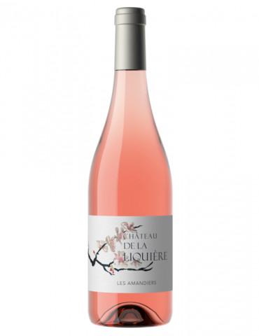 Château de la Liquière - Cuvée Les Amandiers - AOP Faugères - vin rosé - 75 cl