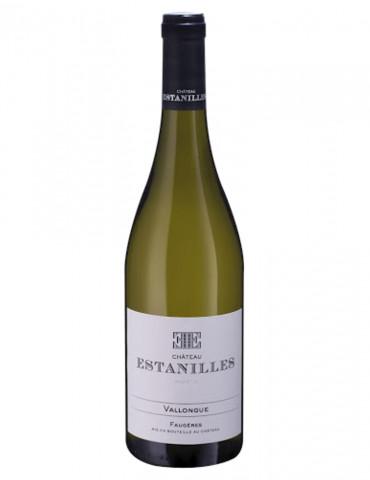 Château des Estanilles - Cuvée Vallongue - AOP Faugères - vin blanc bio - 75 cl