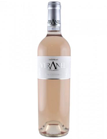 Château Viranel - Tradition - AOP Saint Chinian - vin rosé -75 cl