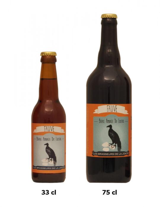Bière ambrée de Lozère - Brasserie de la Jonte