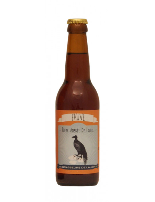 Bière ambrée Fauve de Lozère - Brasserie de la Jonte - 33cl