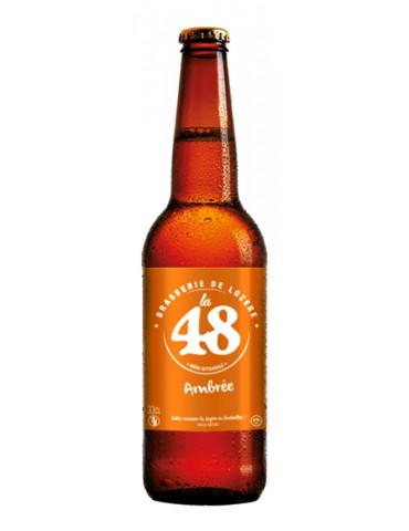 Brasserie de Lozère La 48 - Bière Ambrée - 5°