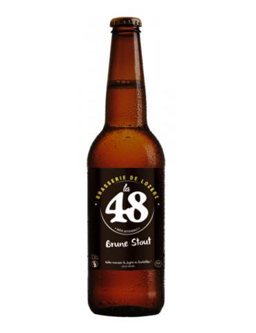 Brasserie de Lozère La 48 - Bière Brune - 5°
