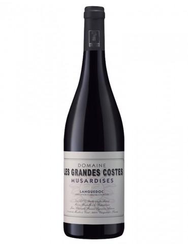 Domaine Les Grandes Costes - Musardises - AOP Coteaux du Languedoc - Vin Rouge - 75 cl
