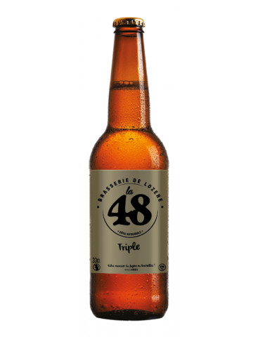 Brasserie de Lozère La 48 - Bière Triple - 7°