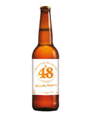 Brasserie de Lozère La 48 - Bière Blanche Passion - 5°