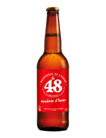 Brasserie de Lozère La 48 - Bière Ambrée d'Hiver - 5°