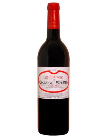 Château Chasse Spleen - L'Héritage - AOP Haut Médoc - vin rouge - 75 cl