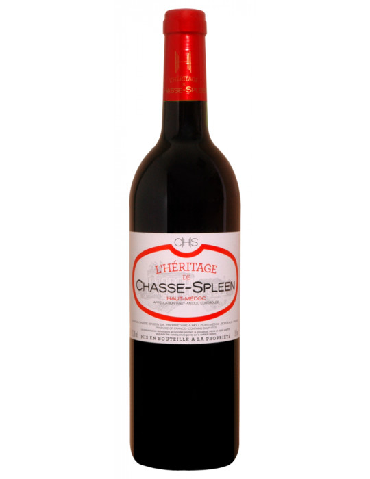 VIN ROUGE-CHATEAU CHASSE SPLEEN-L'HERITAGE