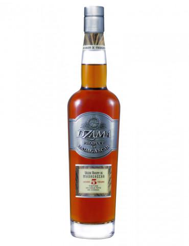 Dzama - Vieux rhum 5 ans finition cognac 40° - Rhum - 70 cl