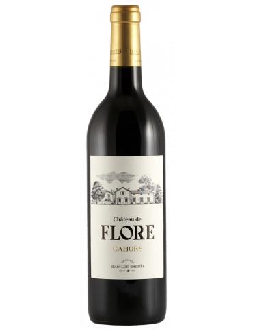 Vignerons Jean Luc Baldès - Château de Flore - AOP Cahors - vin rouge - 75 cl