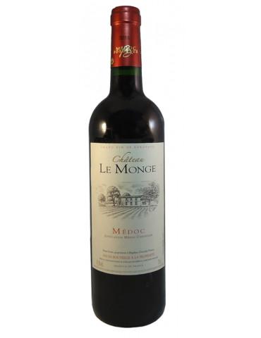 Domaines Fabre - Château Le Monge - AOP Médoc - vin rouge - 75 cl