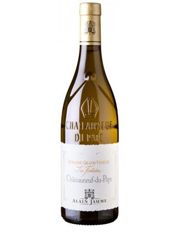 Domaine Grand Veneur - La Fontaine - Château Neuf du Pape AOC - Vin Blanc bio - 75 cl