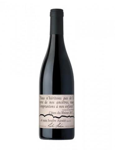 Domaine Roche-Audran - Cuvée Nature sans sulfites - AOP Côtes du Rhône - vin rouge bio - 75 cl