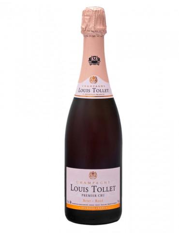 Louis Tollet - Premier Cru Rosé - Champagne brut - 75 cl