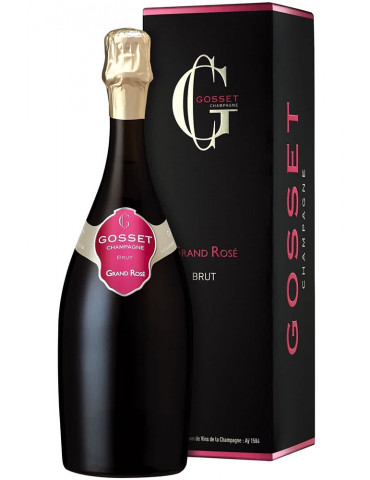 Gosset - Grand Rosé - Champagne brut - 75 cl