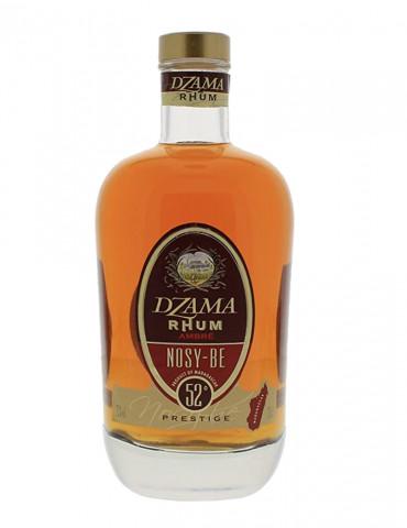 Dzama - Ambré de Nosy Be Prestige 52° - Rhum - 70 cl